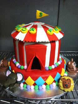 Circus Cake Image