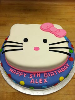 Alex Birthday Cake Specialty Cake Image