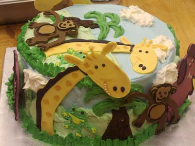Animal Cake 2 Specialty Cake Image