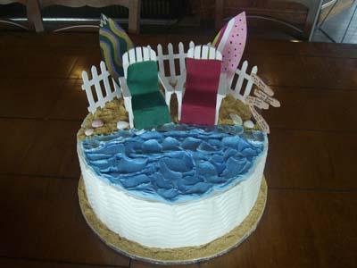 Beach Cake Specialty Cake Image