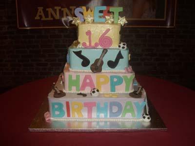 Sweet Sixteen Cake Specialty Cake Image