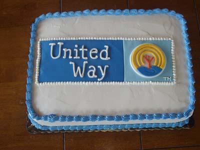 United Way Cake Specialty Cake Image