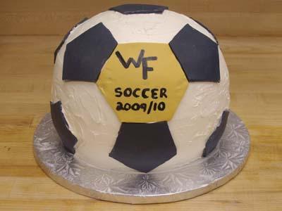 Wake Soccer Ball Cake Specialty Cake Image