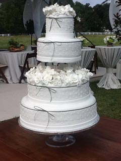 Tiered Wedding Cake Image